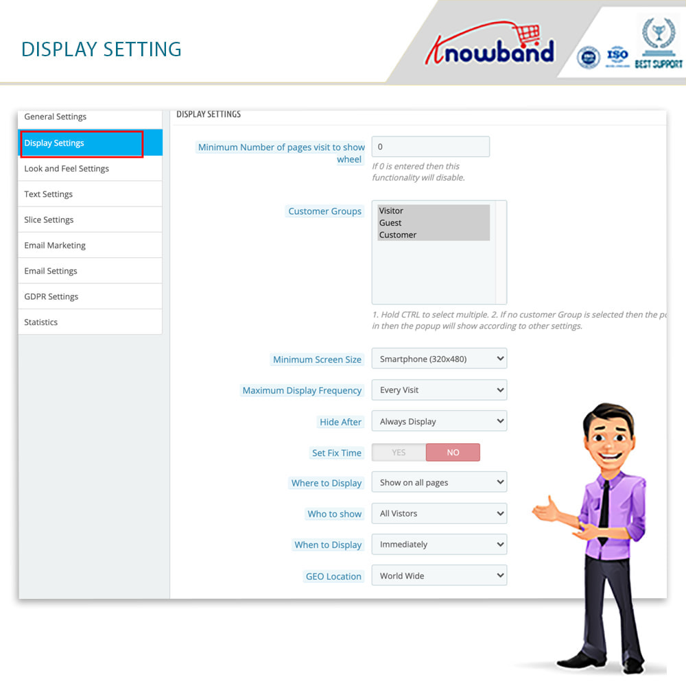 module - Акции и Подарки - Knowband-Entry,Exit and Subscription Popup-Spin and Win - 6