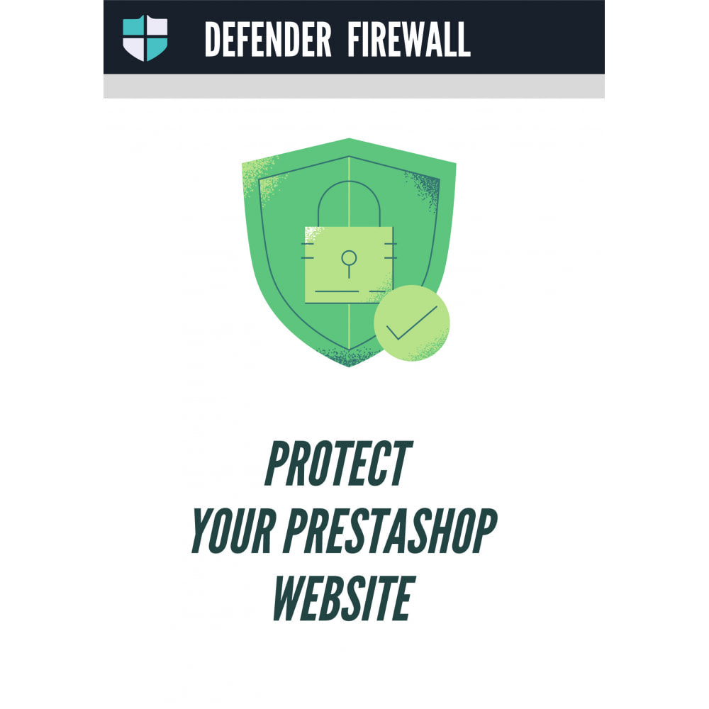 module - Security & Access - Defender - The firewall to protect your shop - 1