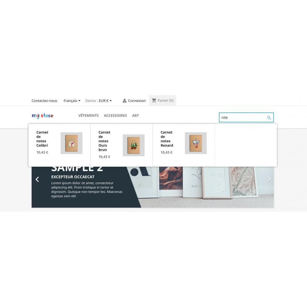 module - Recherche & Filtres - Prestashop Recherche Plus - 4