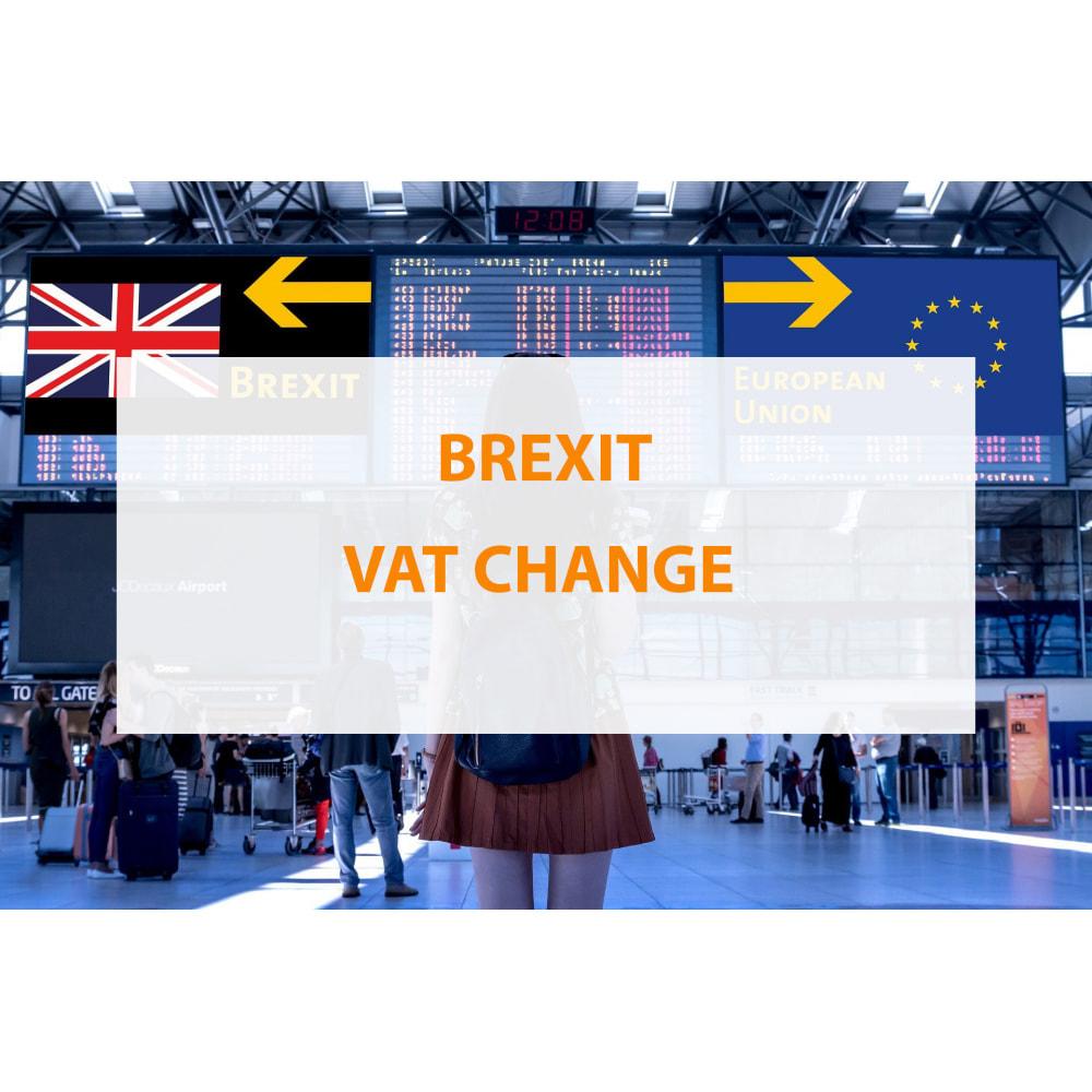 module - Preisverwaltung - Brexit VAT change - 1