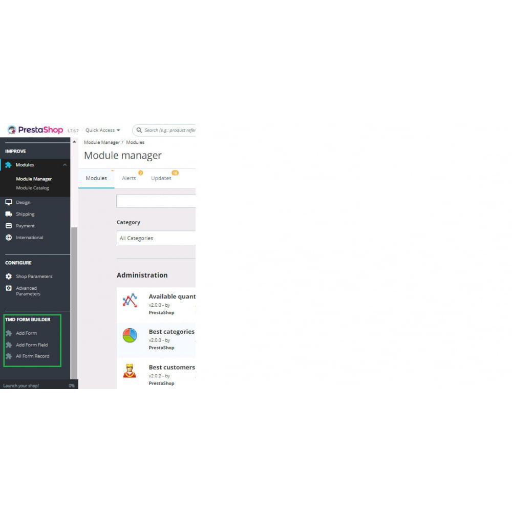 module - Contact Forms & Surveys - Form Builder Pro - 2