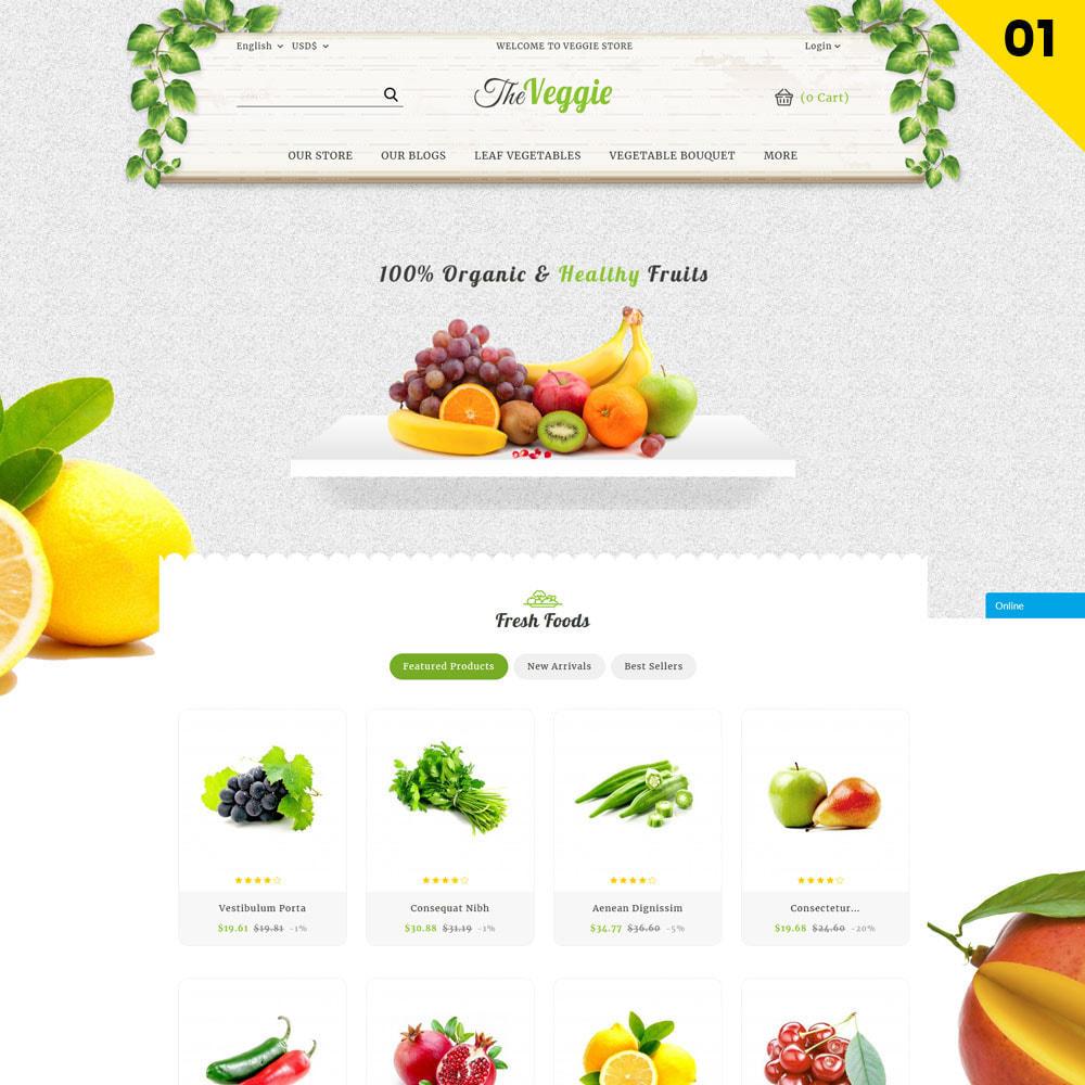 theme - Food & Restaurant - Veggie  - The Organic Store - 3