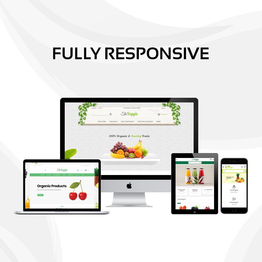 theme - Gastronomía y Restauración - Veggie - La tienda de productos orgánicos - 2