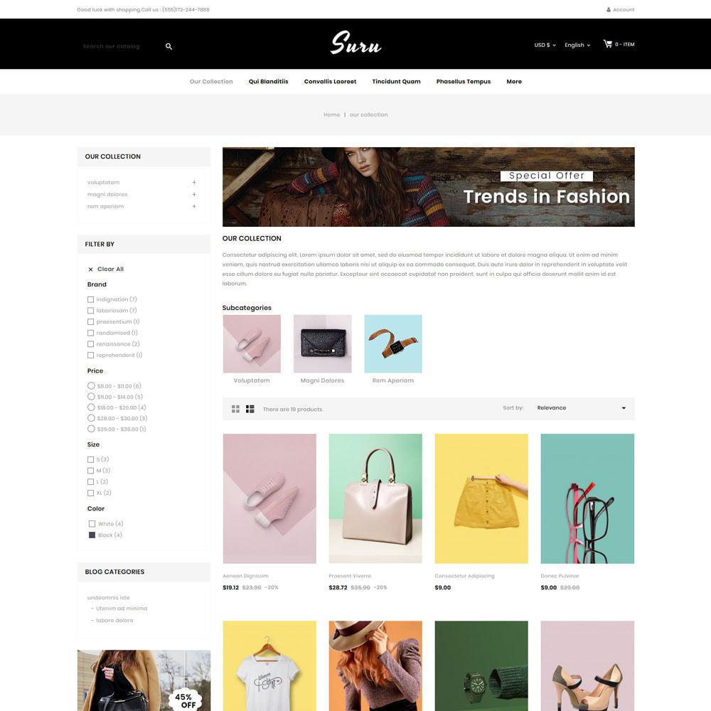 theme - Fashion & Shoes - Suru - The fashion store - 4