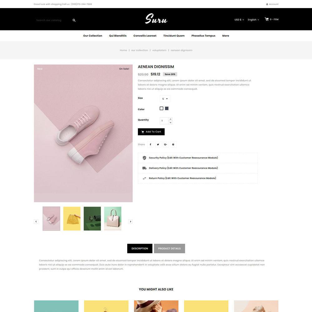 theme - Fashion & Shoes - Suru - The fashion store - 6
