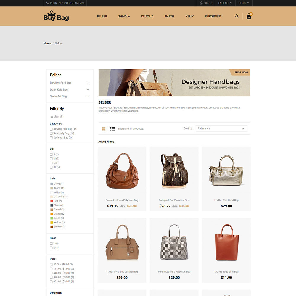 theme - Moda & Calçados - Buy Bag - Fashion Store - 3