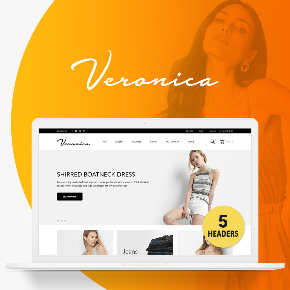 theme - Moda & Calzature - Veronica Fashion Store - 1