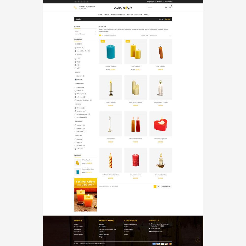 theme - Regali, Fiori & Feste - Candela - Responsive Store - 3