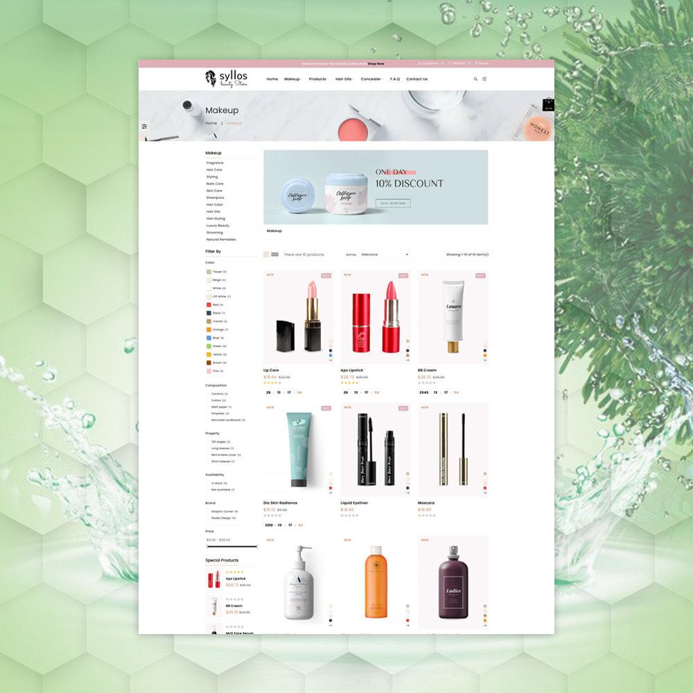 theme - Health & Beauty - Syllos Beauty Store - 3
