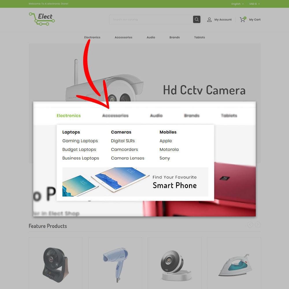 theme - Eletrônicos & High Tech - Elect - Digital Store - 6