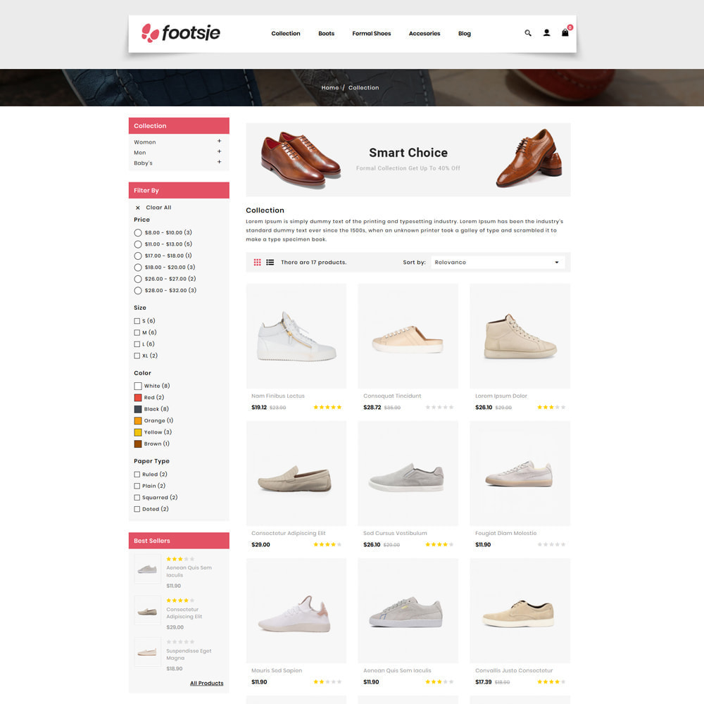 theme - Mode & Chaussures - Foots - Shoes Store - 3