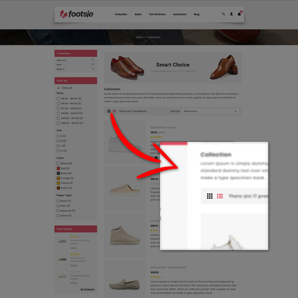 theme - Mode & Chaussures - Foots - Shoes Store - 8