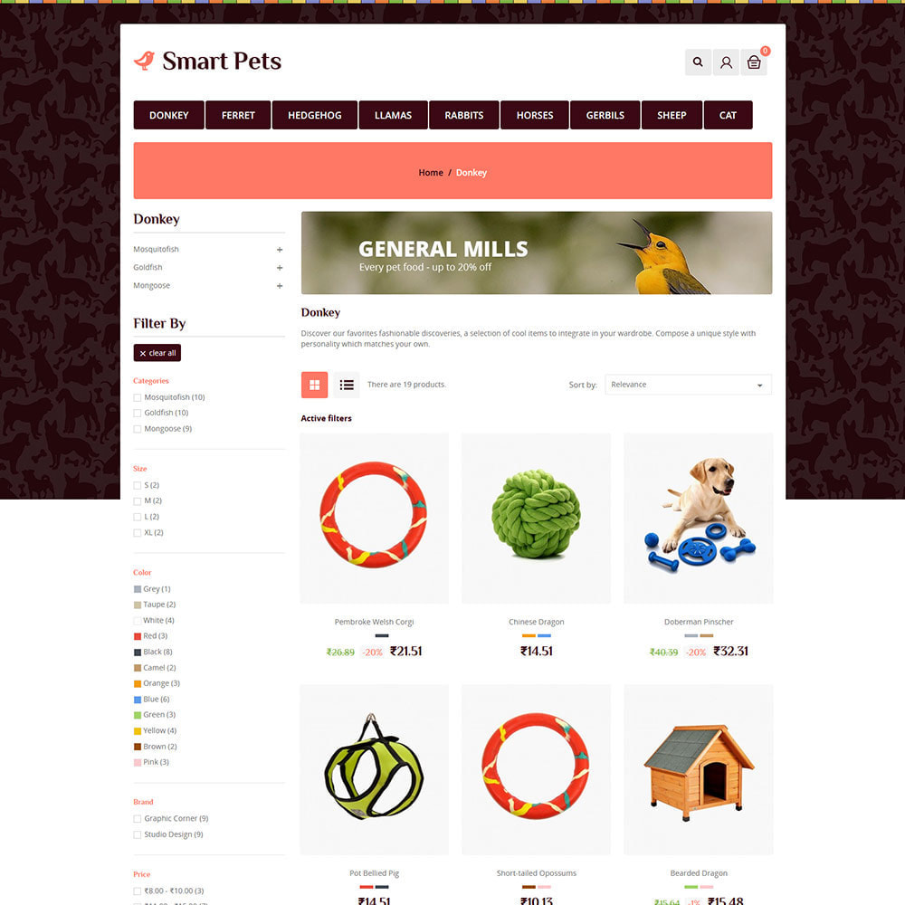 theme - Zwierzęta - Smart Animal - Pet Food Store - 3