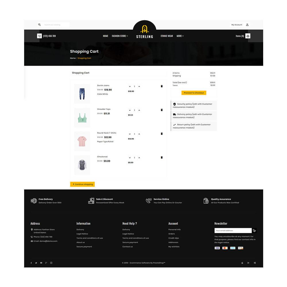 theme - Мода и обувь - Sterling–Fashion Big Store - 5