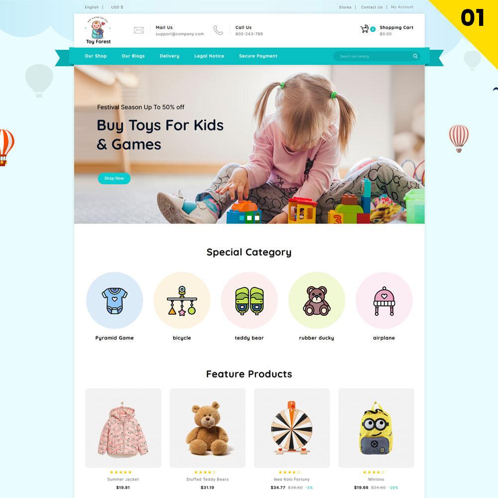theme - Niños y Juguetes - ToyForest - La tienda Mega Kids - 3