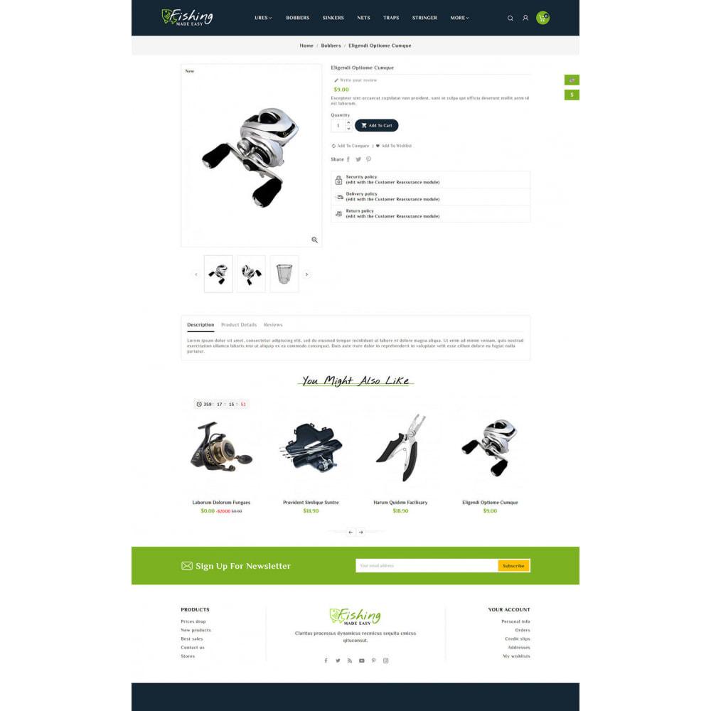 theme - Sport, Activiteiten & Reizen - Fishing Equipment - 6