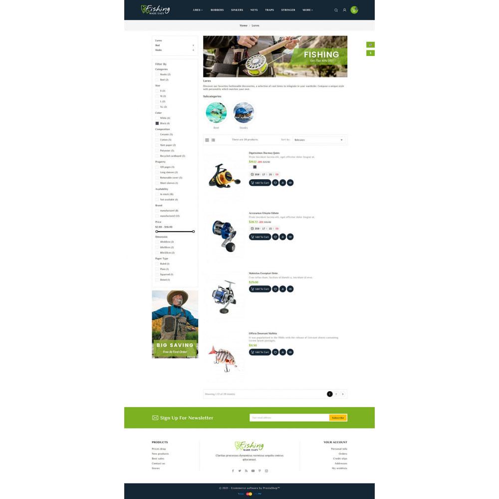 theme - Desporto, Actividades & Viagens - Fishing Equipment - 4