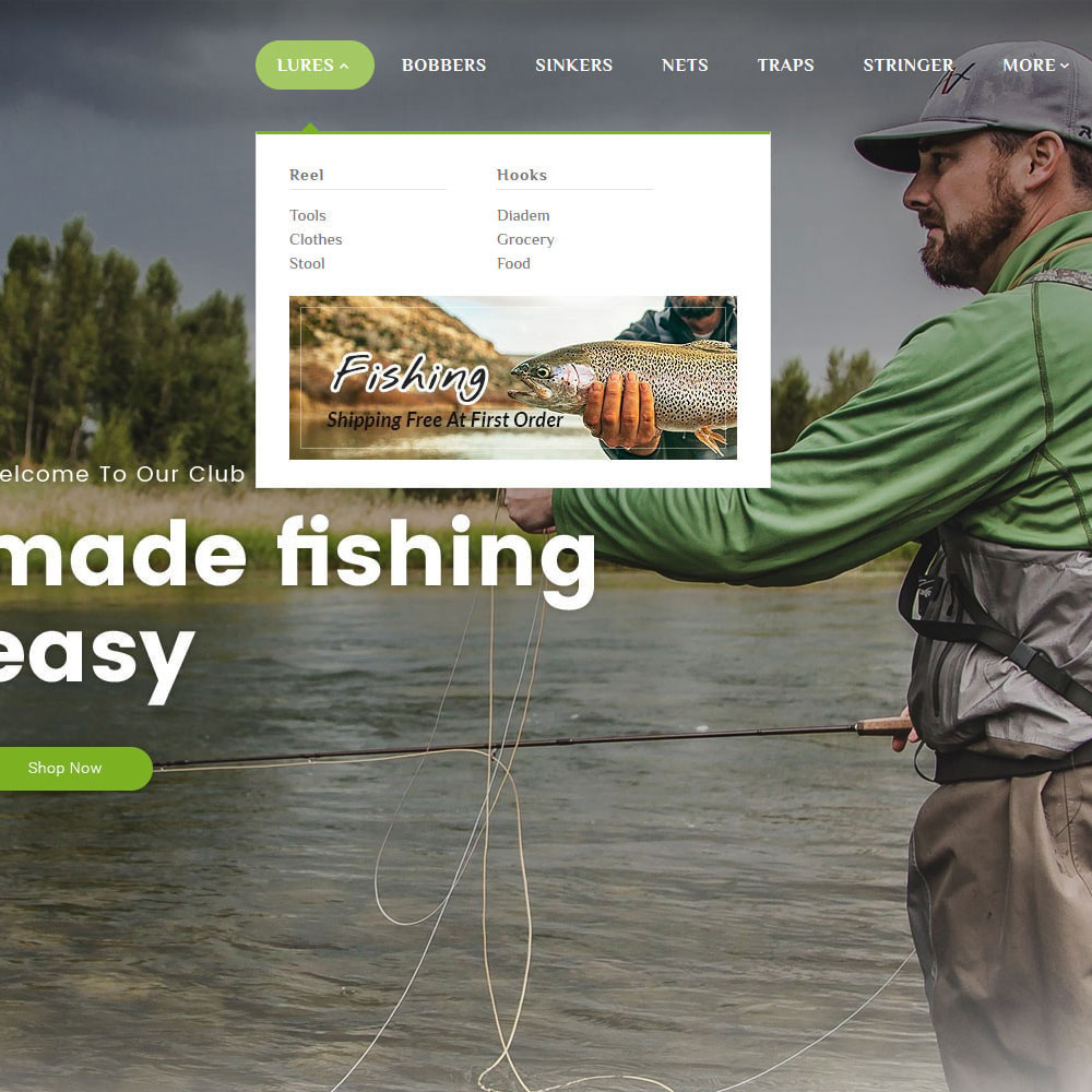 theme - Desporto, Actividades & Viagens - Fishing Equipment - 9