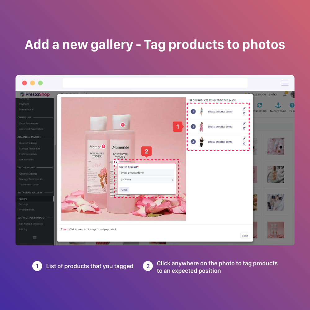 module - Sliders & Galeries - Shoppable Instagram Feed: carousel, slider, gallery - 11