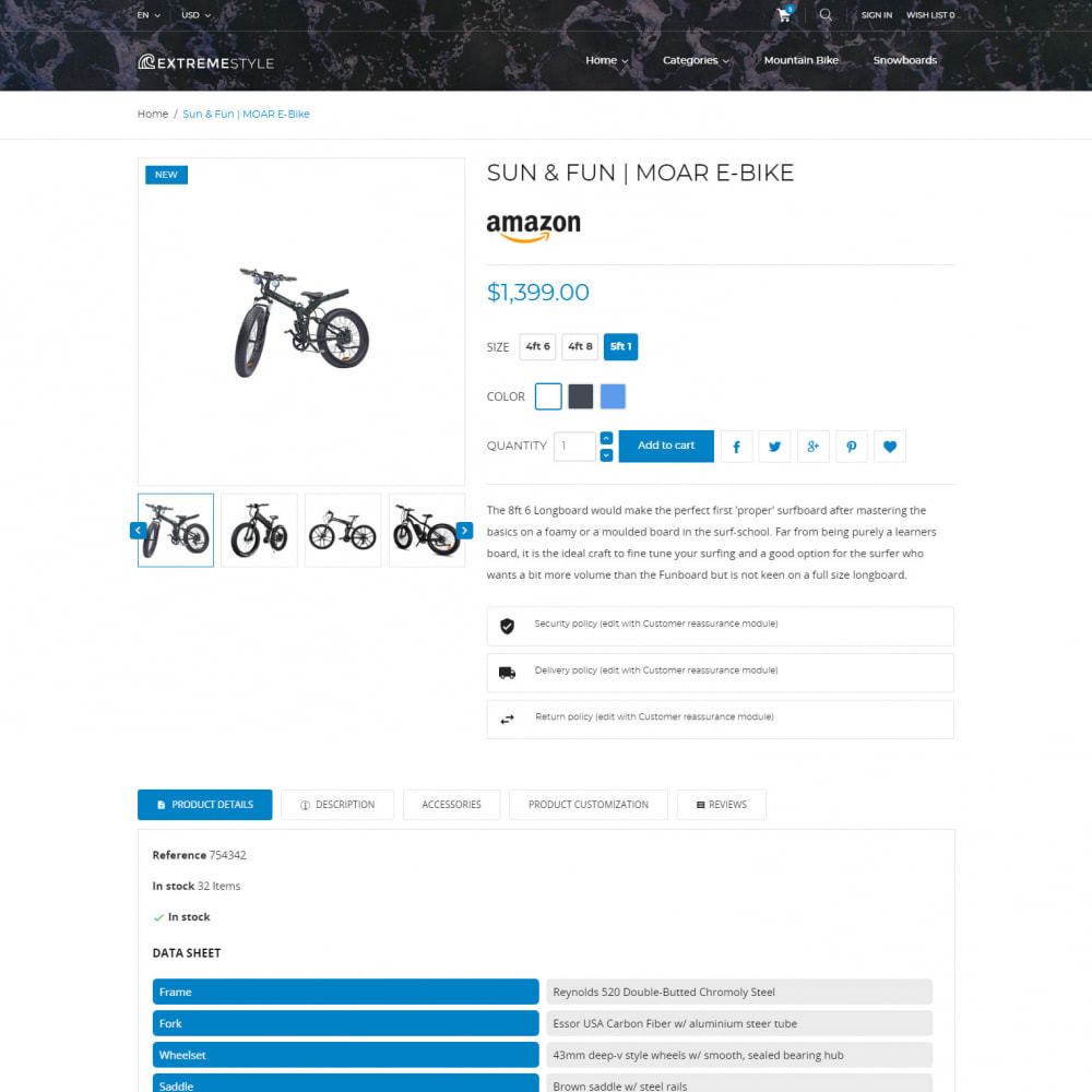 theme - Sport, Loisirs & Voyage - ExtremeLife - Magasin de Sport - 5