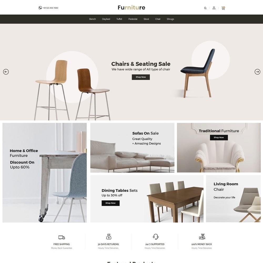 theme - Dom & Ogród - Interior Designer - Furniture Wood Store - 2