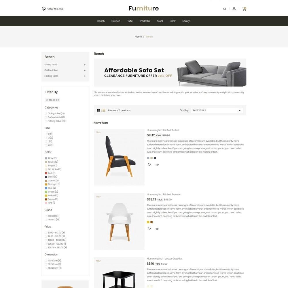 theme - Dom & Ogród - Interior Designer - Furniture Wood Store - 3