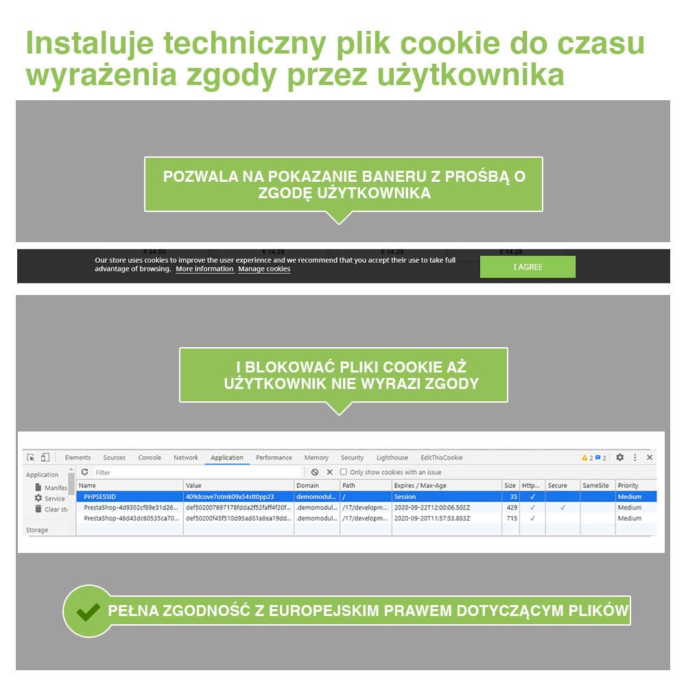 module - Wzmianki prawne - Polityka Cookies RODO (Ostrzeżenie + Blokada)–Nowy 2020 - 3