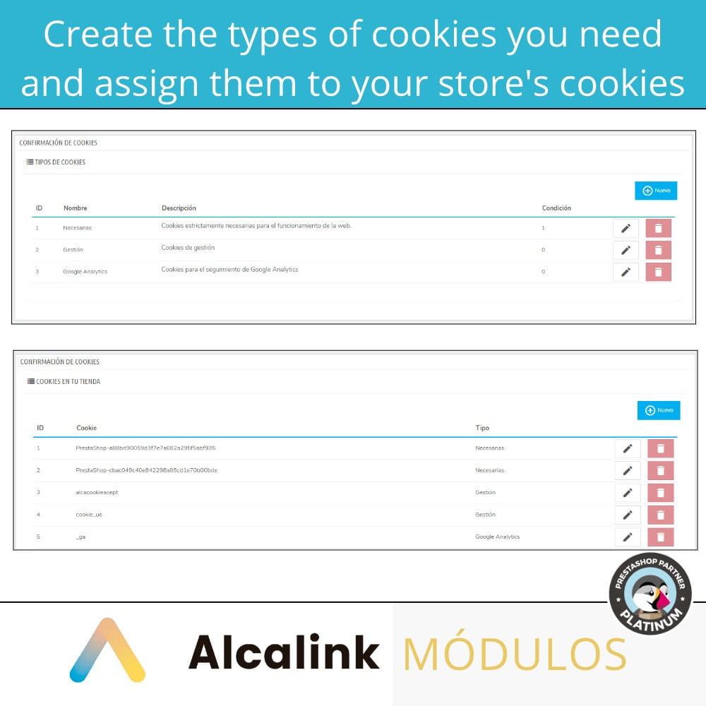 module - Wzmianki prawne - Cookies configuration law - 2021 - 4