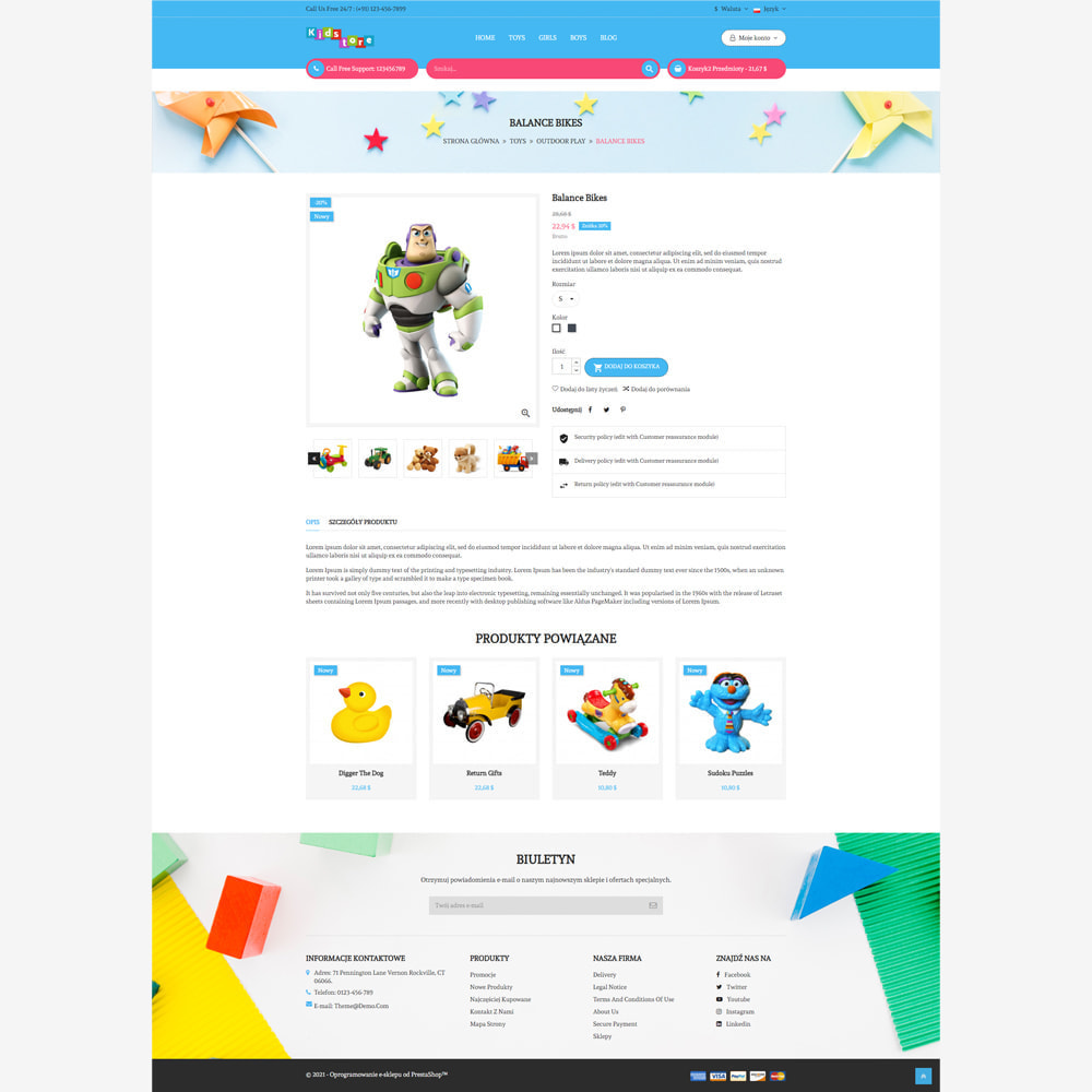 theme - Zabawki & Artykuły dziecięce - Sklep dla dzieci - 3