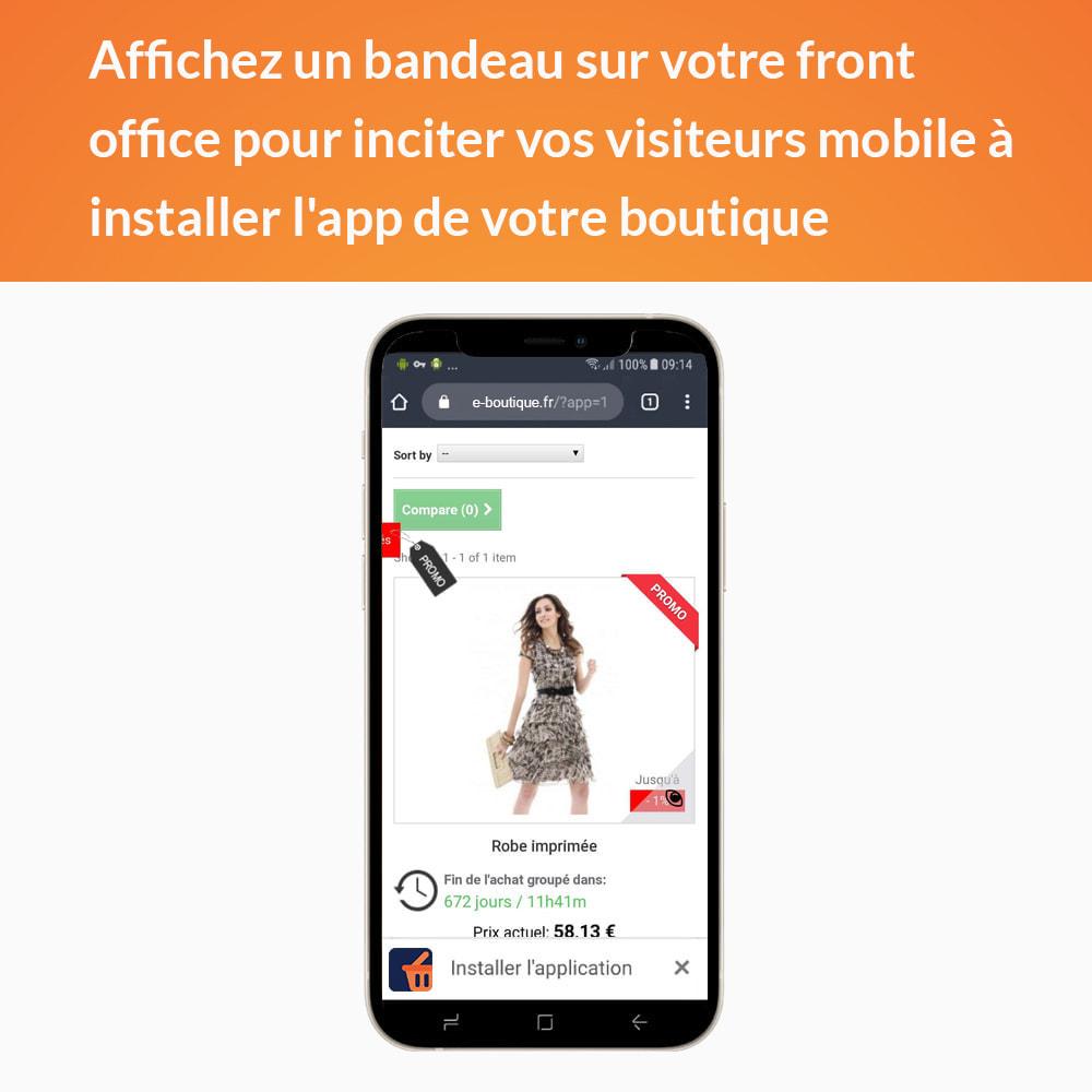 module - Mobile - Progressive Web App - Sans abonnement - 2