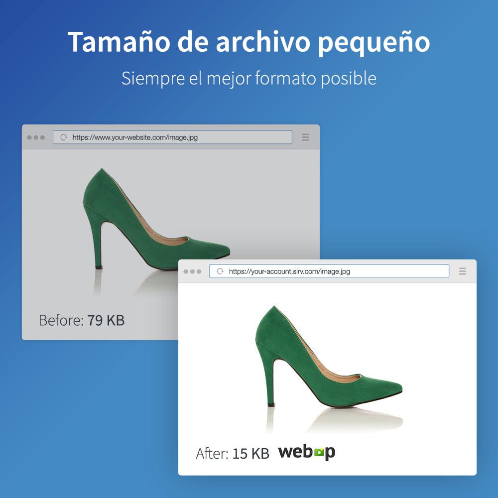 module - Rendimiento del sitio web - Sirv CDN y optimización: imágenes, video, giro 360 - 3