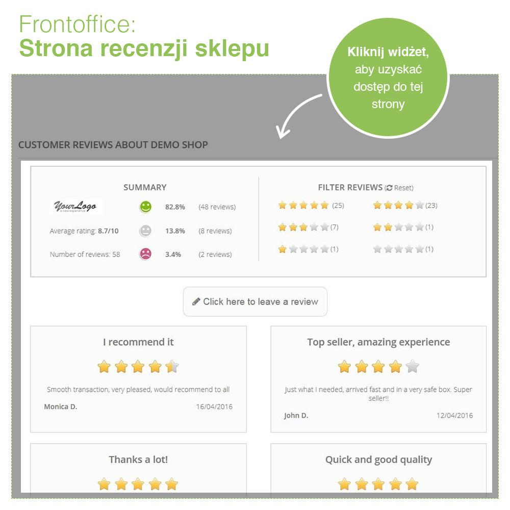 module - Opinie klientów - Reviews: Recenzje Sklepu i Produktów + Rich Snippets - 8