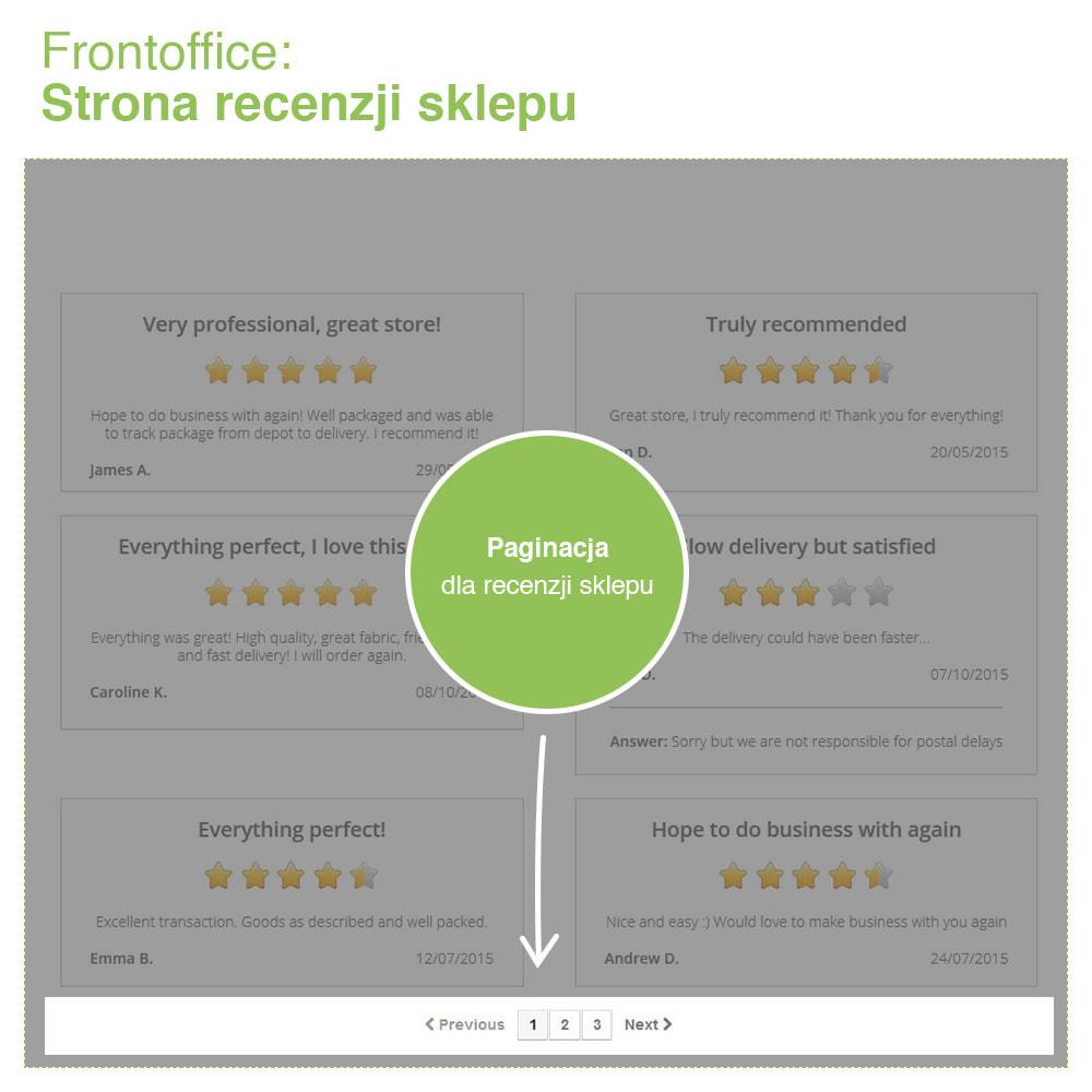 module - Opinie klientów - Reviews: Recenzje Sklepu i Produktów + Rich Snippets - 10