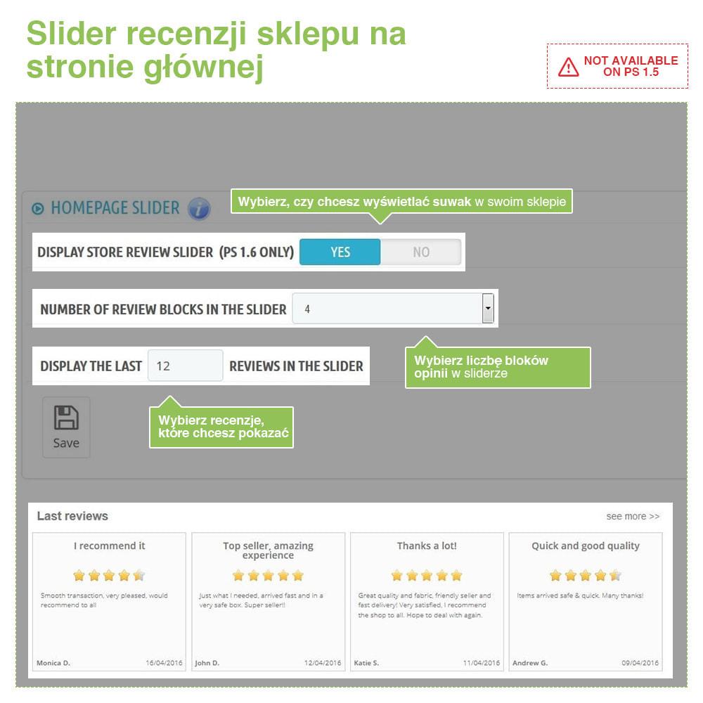 module - Opinie klientów - Reviews: Recenzje Sklepu i Produktów + Rich Snippets - 11