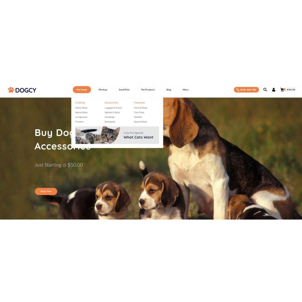 theme - Animais - Dogcy - Pet Food Store - 6