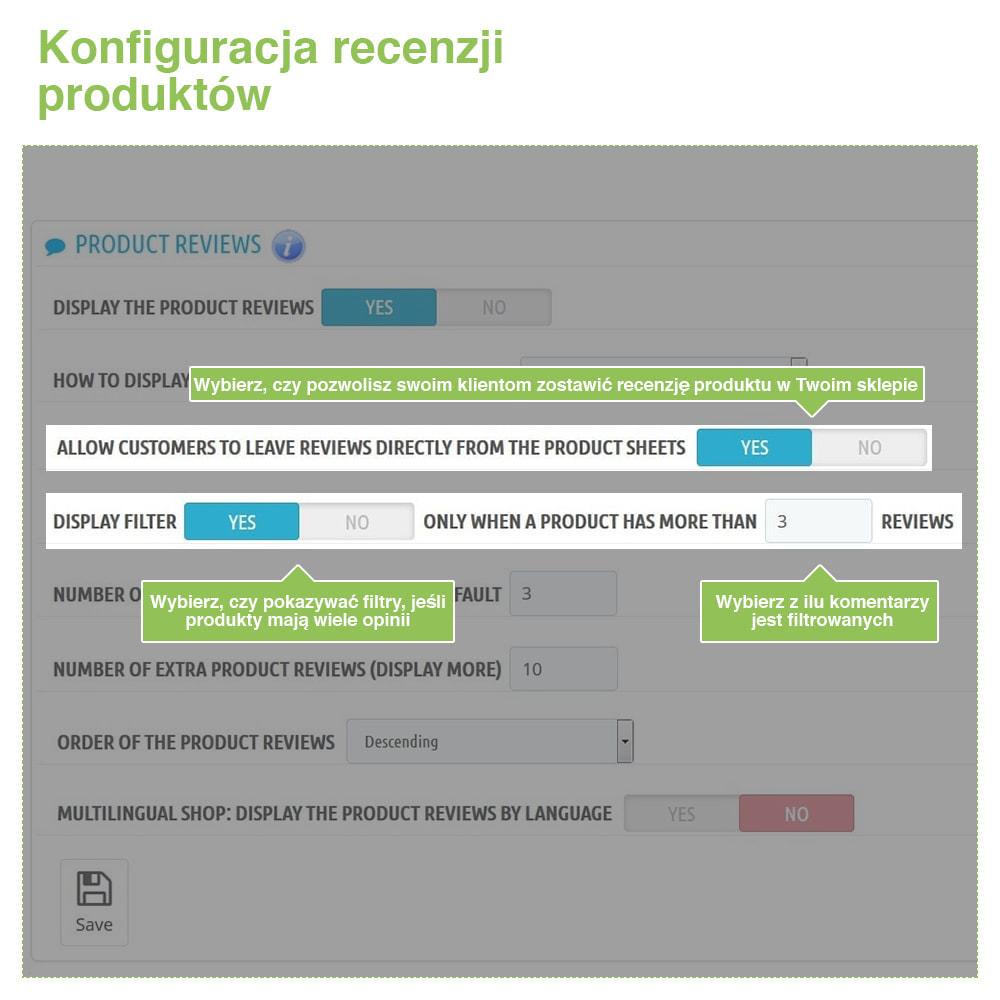 module - Opinie klientów - Reviews: Recenzje Sklepu i Produktów + Rich Snippets - 13