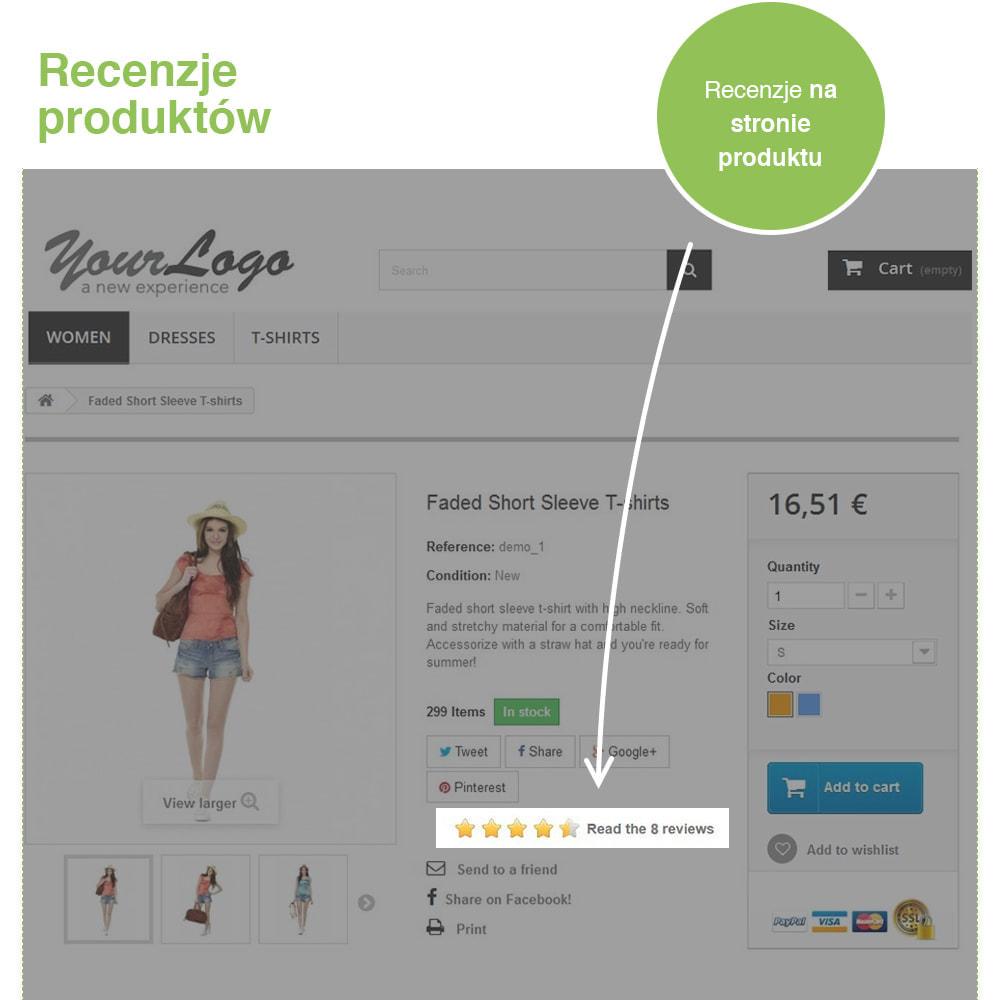 module - Opinie klientów - Reviews: Recenzje Sklepu i Produktów + Rich Snippets - 18