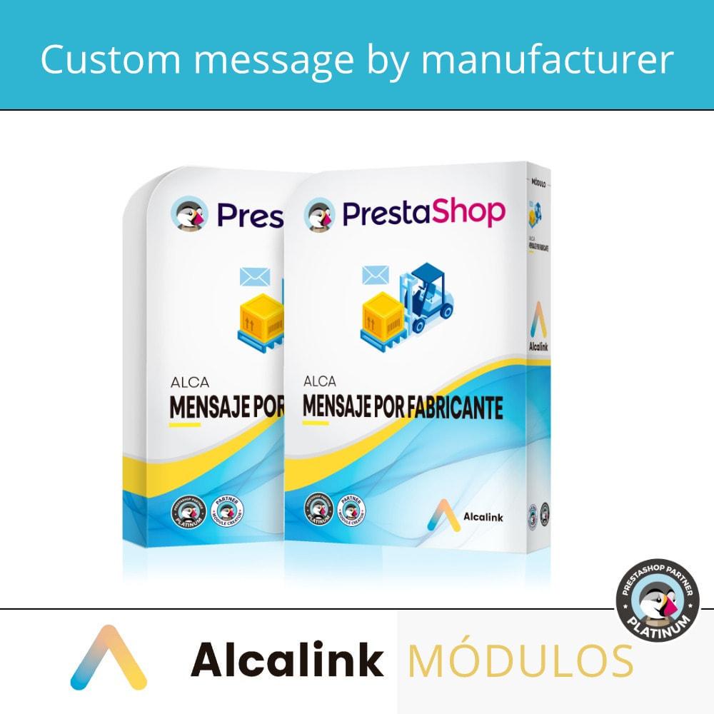 module - Pokaz produktów - Custom message by manufacturer - 1