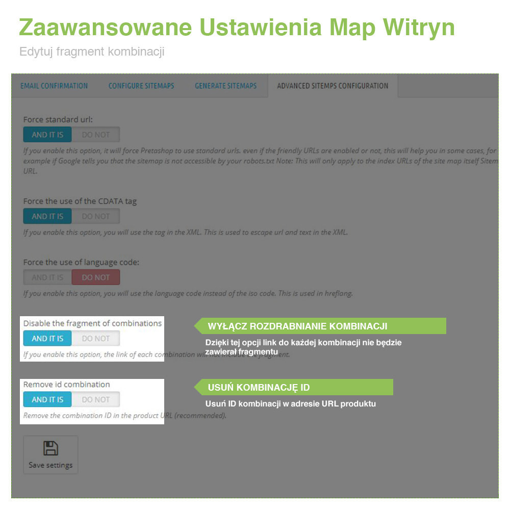 module - SEO (Pozycjonowanie naturalne) - Mapa Witryny Wielojęzycznej i Multisklepowej PRO – SEO - 12