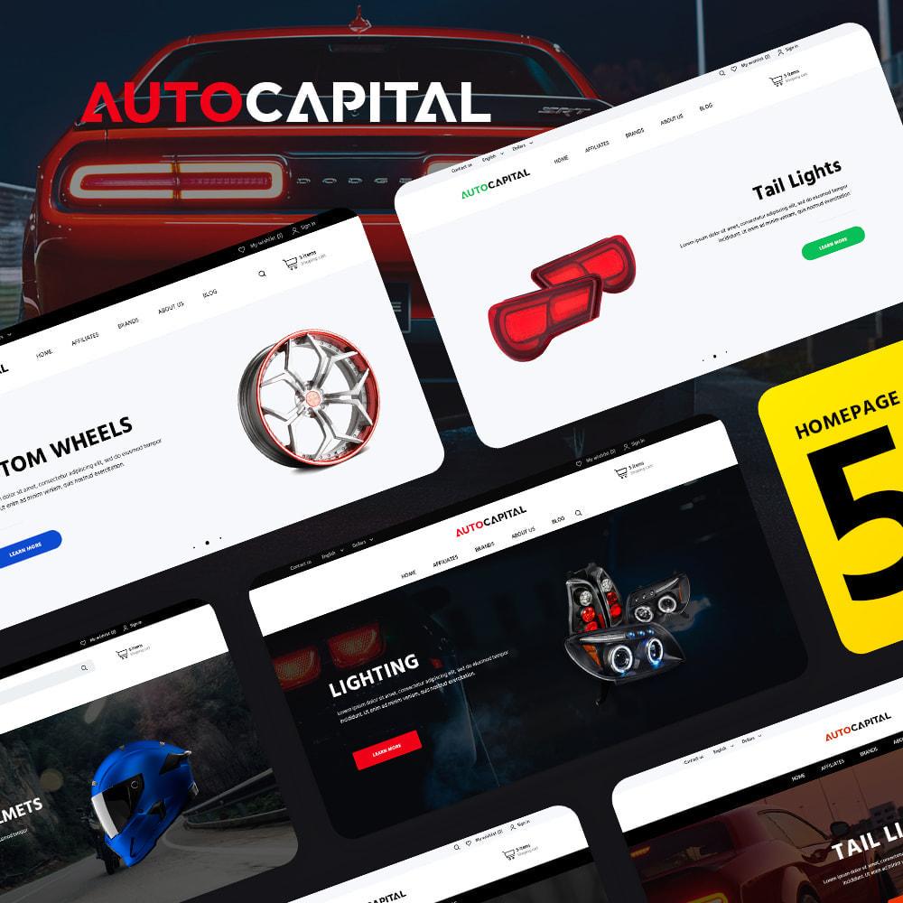 theme - Carros & Motos - AutoCapital - 1