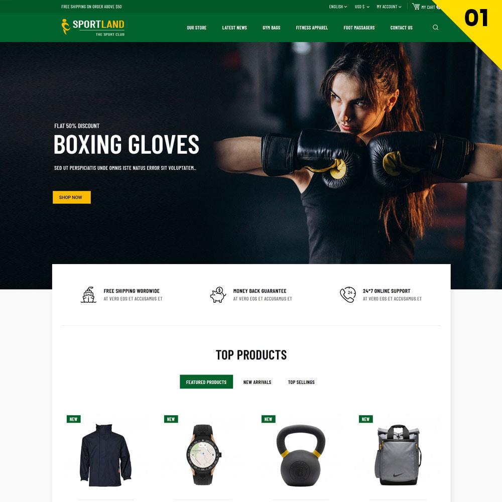 theme - Deportes, Actividades y Viajes - Sport Land - La tienda Mega Sport - 3