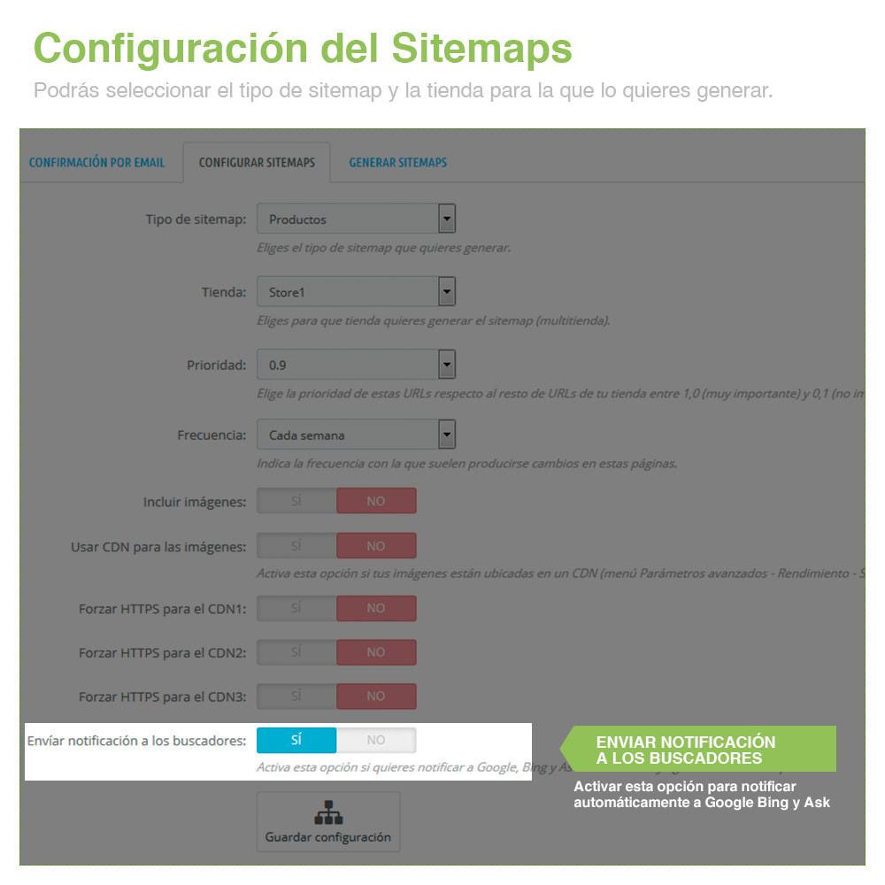 module - SEO (Posicionamiento en buscadores) - Sitemaps Pro Multi-Idiomas y Multi-Tiendas - SEO - 5