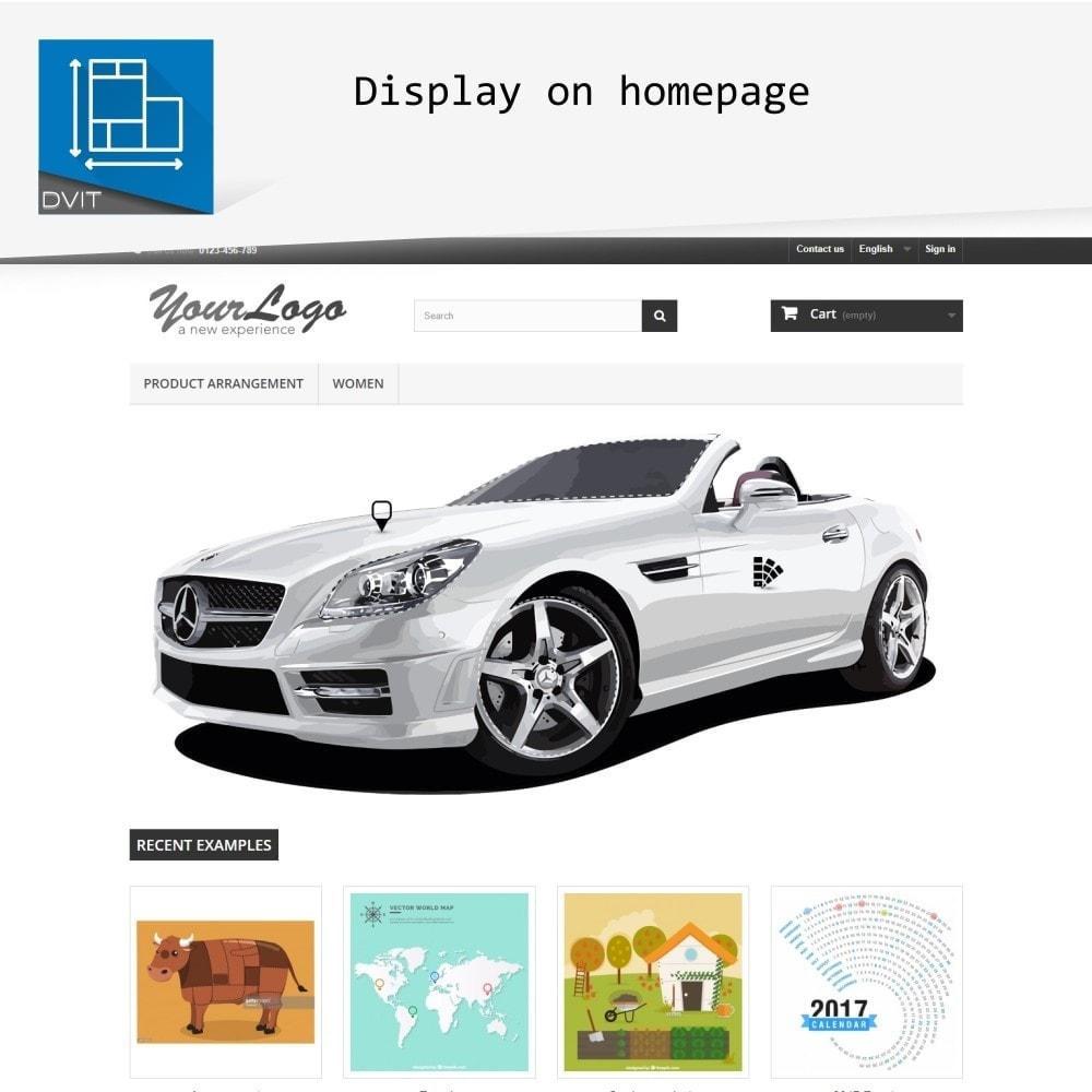 module - Personalización de la página - Puesta en escena de productos - 10