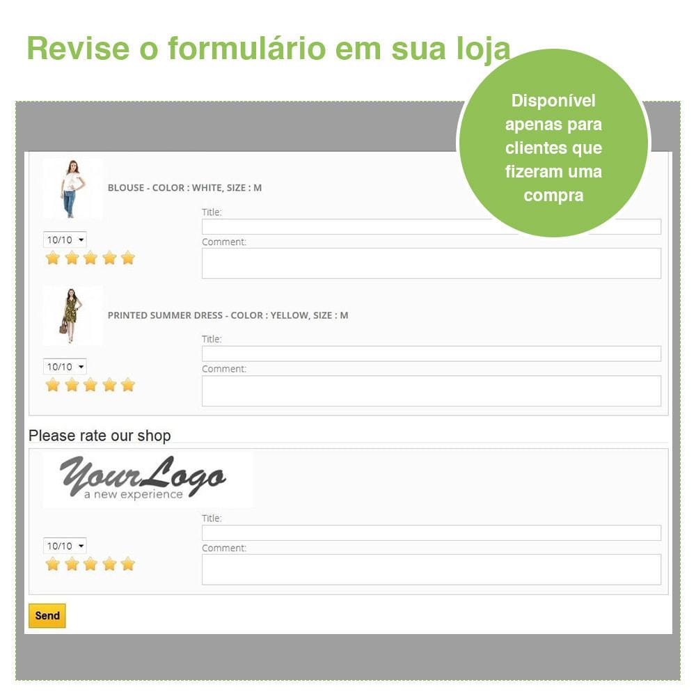 module - Opiniões de clientes - Opiniões de loja + produto  Opiniões + Snippets - 28