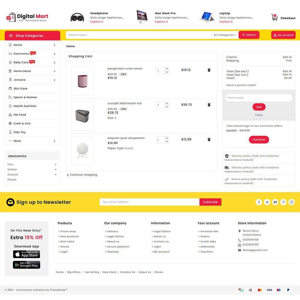 theme - Electronique & High Tech - Digital Mart - Multi-purpose Mega Store - 16