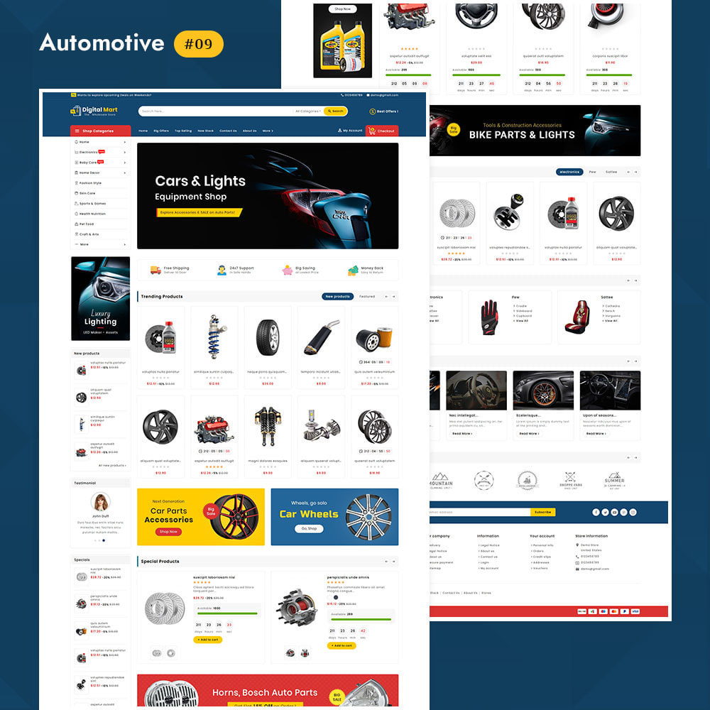 theme - Elektronik & High Tech - Digital Mart - Multi-purpose Mega Store - 10