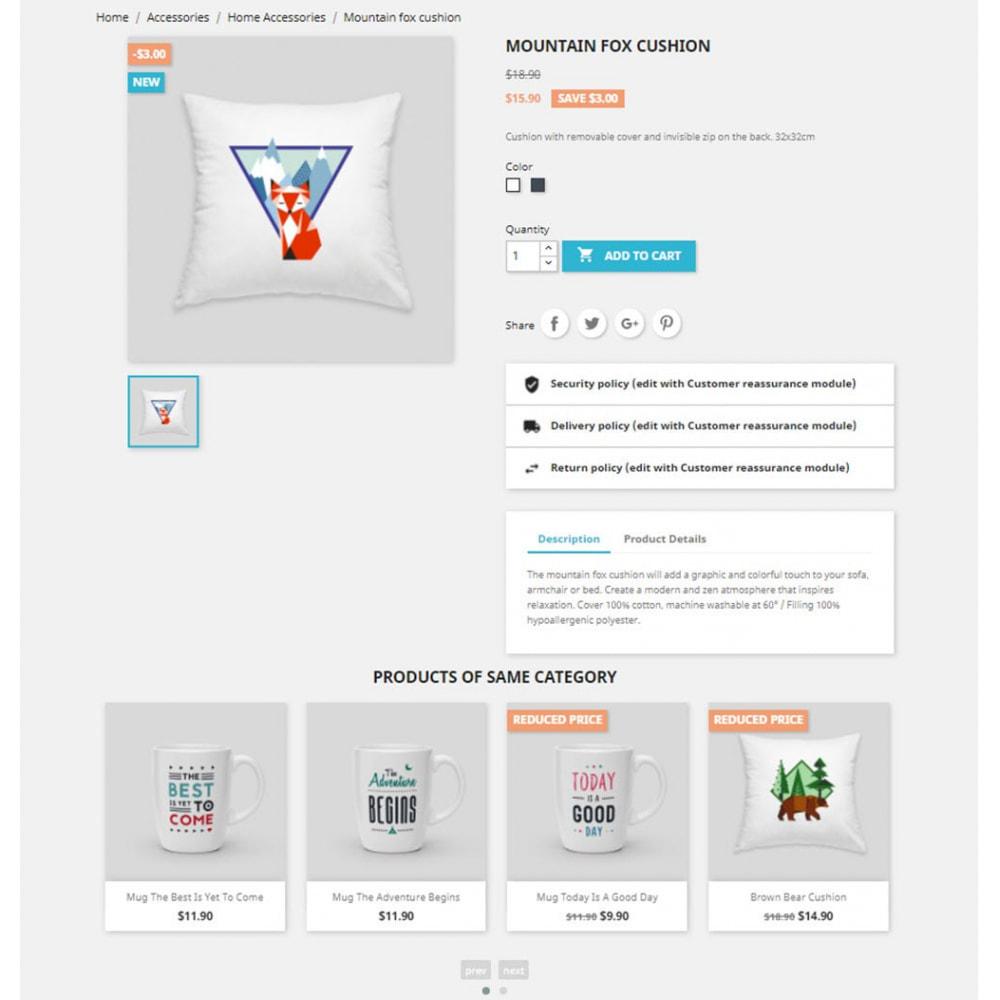 module - Слайдеров (карусельных) и галерей - Carousels Pack - Instagram, Products, Brands, Supplier - 6