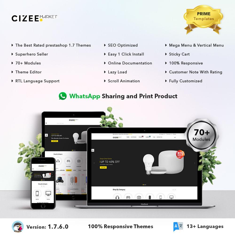 theme - Electronique & High Tech - Clzee Market Store - 1