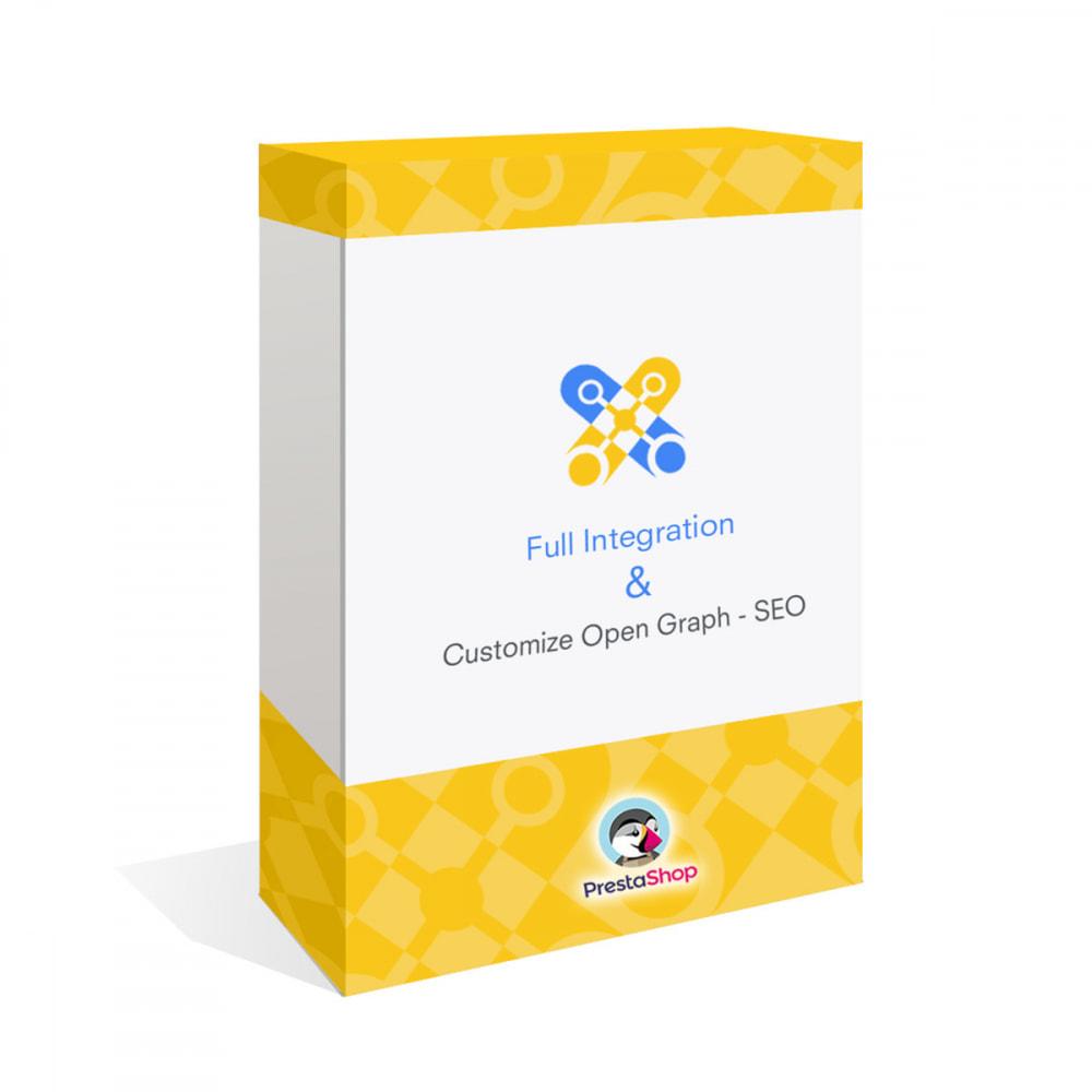 module - Compartir contenidos y Comentarios - Integración completa y Personalización Open Graph - SEO - 1