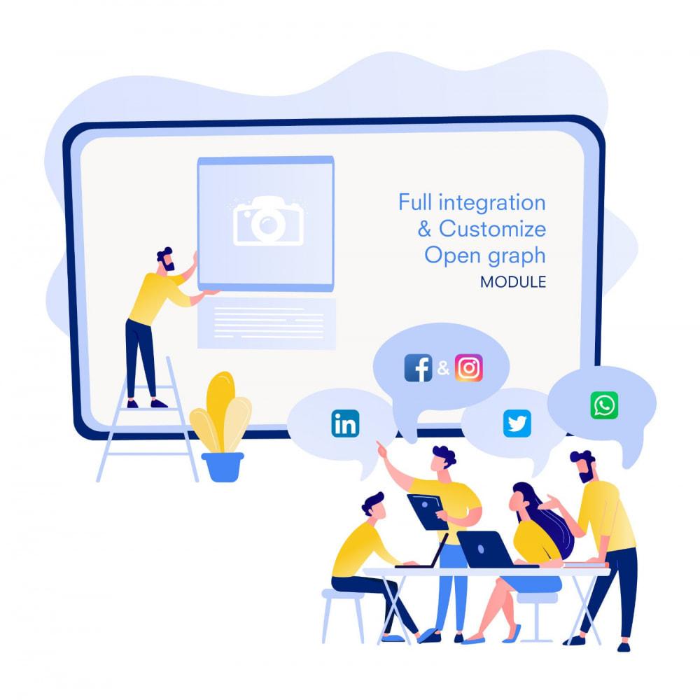 module - Compartir contenidos y Comentarios - Integración completa y Personalización Open Graph - SEO - 2